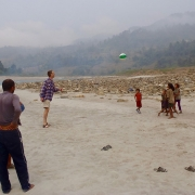 Sun Koshi riverbanks, Nepal