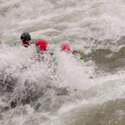 White water rafting, Sun Koshi river, Nepal