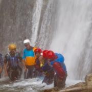 Waterfalls on Sun Koshi, Nepal